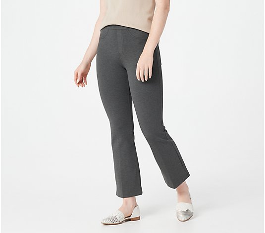 Spanx Cropped Flare Ponte Pant Regular