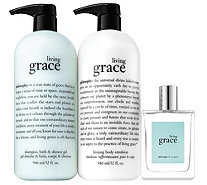 philosophy supersize grace & roses layering trio Auto-Delivery - A367212