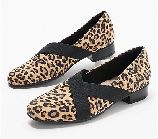 """As Is"" Clarks Collection Leather Loafers - Juliet Dahlia"