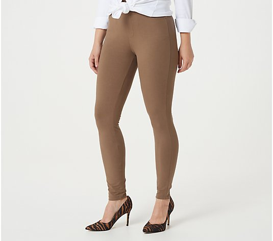 Susan Graver Weekend Regular Premium Stretch Ankle Leggings