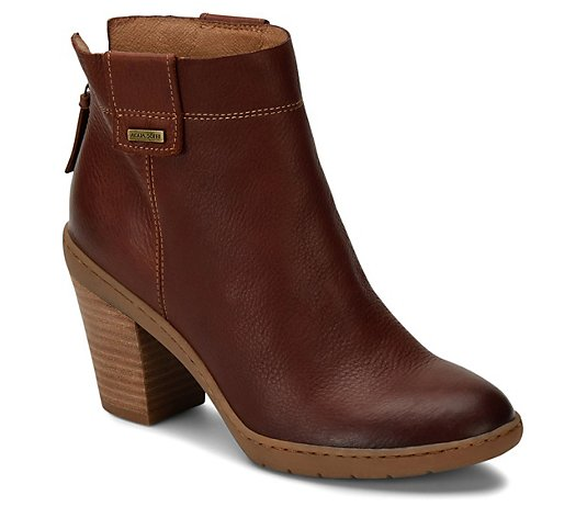 Sofft All-Weather Leather Booties - Gwenith