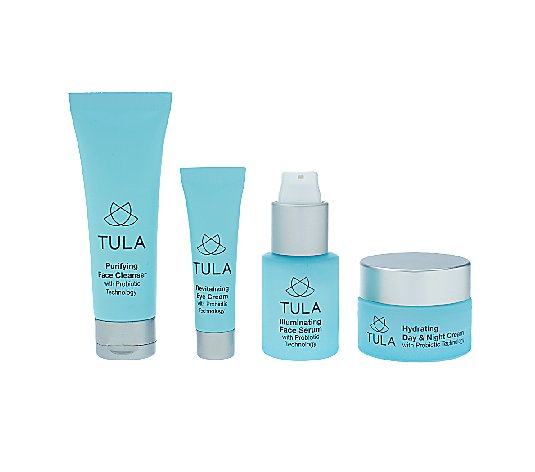 TULA Probiotic Skin Care 4-piece Starter Kit
