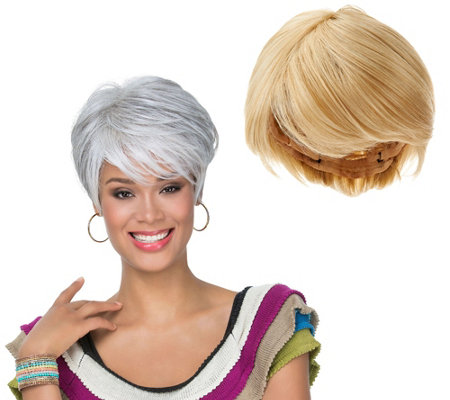 LUXHAIR by Sherri Shepherd Short Tapered Bob Wig