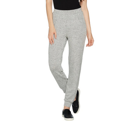 H by Halston Regular Super Soft Knit Jogger Pants