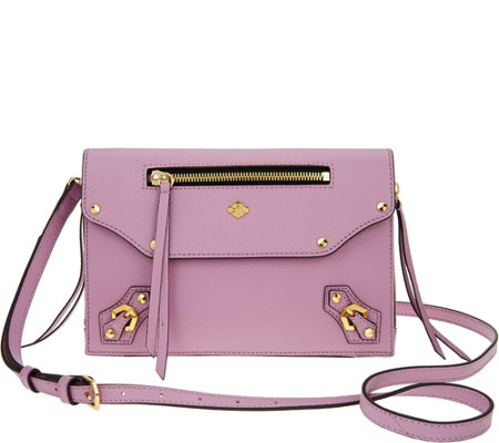 """As Is"" orYANY Pebble Leather Crossbody - Zaria"