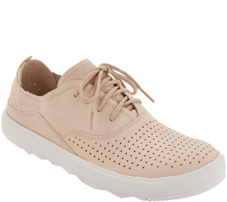 Merrell Nubuck Lace-Up Sneakers - Around Town City Lace