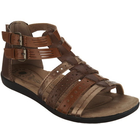 Earth Origins Leather Gladiator Sandals - Harlin