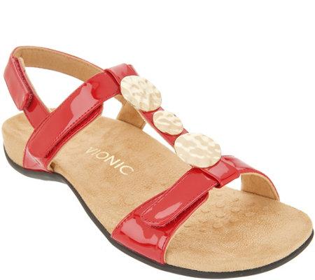 3c50ce1b8 Vionic Embellished Sandals - Farra - Page 1 — QVC.com