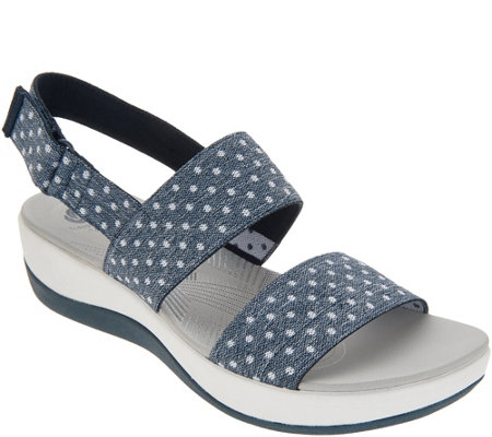 """As Is"" CLOUDSTEPPERS by Clarks Sport Sandals- Arla Jacory"