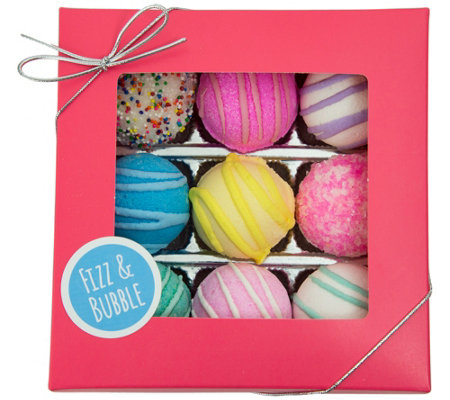 Fizz & Bubble 9-Pack Bath Truffles