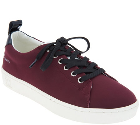"""As Is"" FLY London Nubuck Leather Lace-up Sneakers- Maco"
