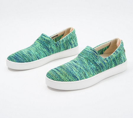 Spenco Orthotic Space Dye Slip-Ons - Coastal