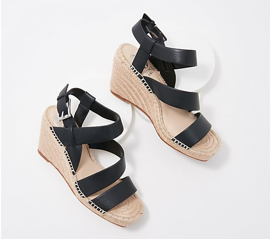 Vince Camuto Suede Espadrille Wedges - Martissy