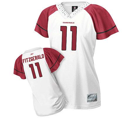 NFL Arizona Cardinals Larry Fitzgerald Women sFlirt Jersey — QVC.com 9fb4f989d
