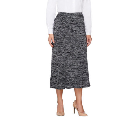 Linea by Louis Dell'Olio Pull-On Knit Skirt