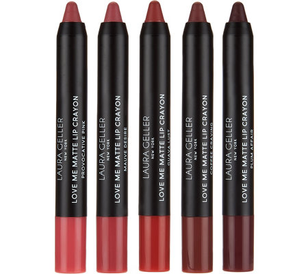 Laura Geller Love Me Mattes 5-piece Lip Collection