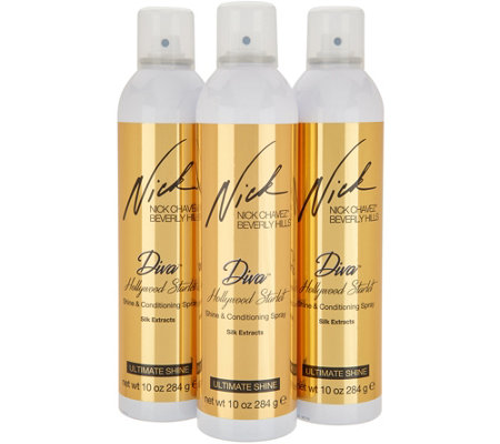 Nick Chavez Starlet Shine & Condition Spray Trio
