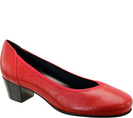 David Tate Leather Pumps - Madera