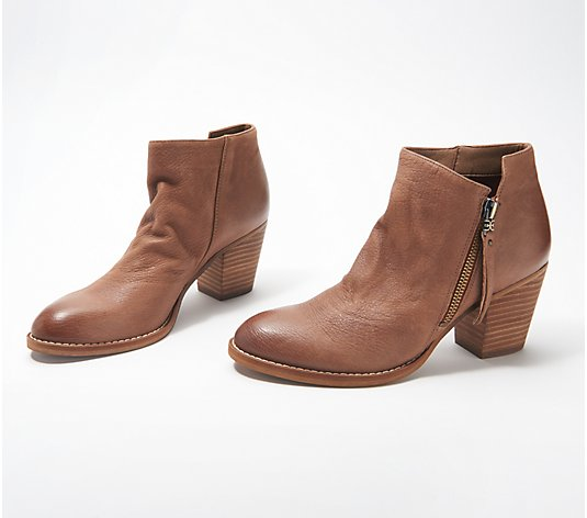 Sam Edelman Leather or Suede Ankle Boots - Macon
