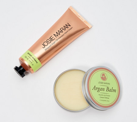 Josie Maran Argan Balm & Whipped Hand Cream 2-Piece Set
