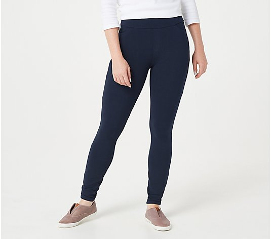 Susan Graver Weekend Tall Premium Stretch Ankle Leggings