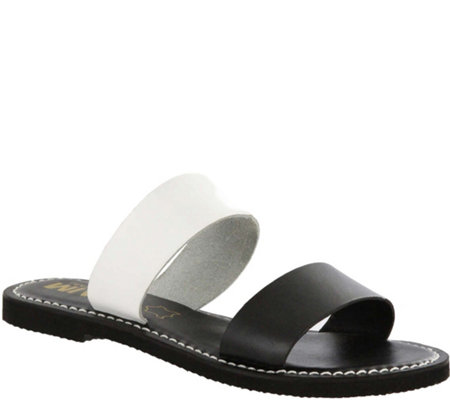 MIA Shoes Flat Slide Sandals - Nila