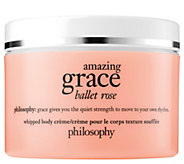 philosophy grace & roses whipped body creme, 8 fl oz - A412014