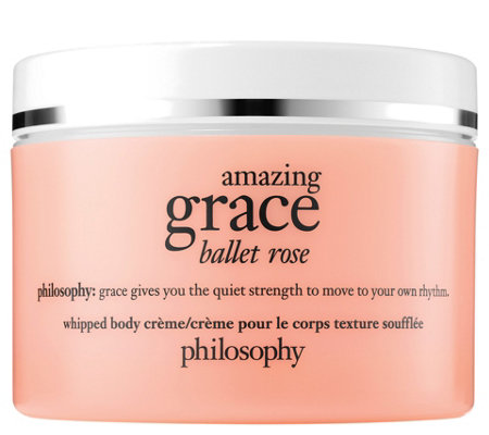 philosophy grace & roses whipped body creme, 8 fl oz