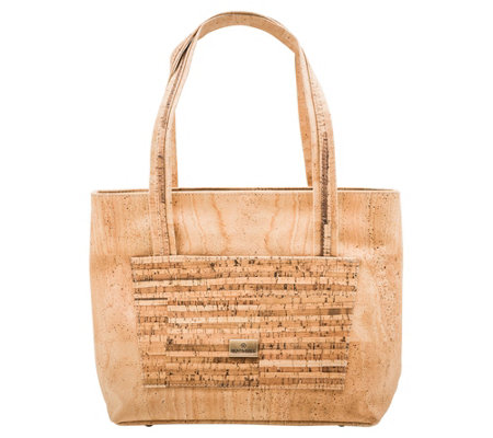 Bent Bree Genuine Cork Tote Handbag Grace