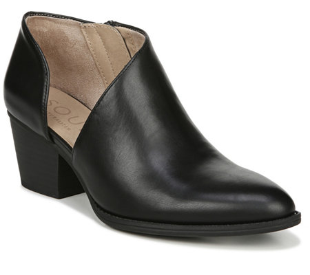 SOUL Naturalizer Asymmetrical Side-zip Shooties- Suzette