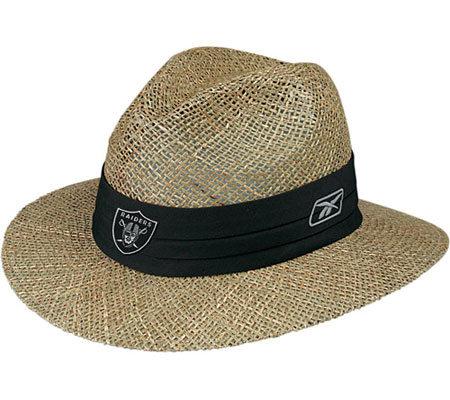 NFL Oakland Raiders Training Camp Straw Hat — QVC.com b41f67999966