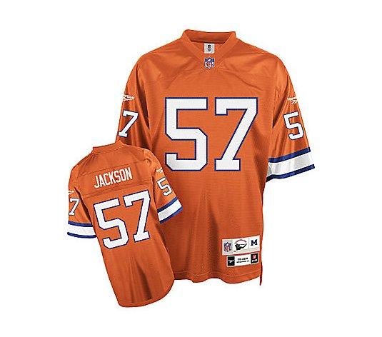 NFL Denver Broncos Tom Jackson Premier Throwback Jersey - QVC.com