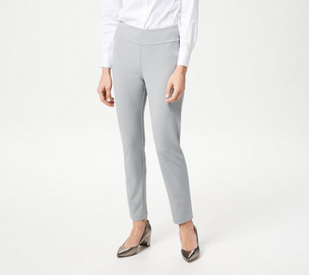 Linea by Louis Dell'Olio Knit Pull-On Slim Ankle Pants