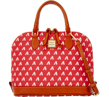 Dooney & Bourke MLB Diamondbacks Zip Zip Satchel