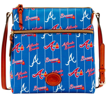 Dooney & Bourke MLB Nylon Braves Crossbody