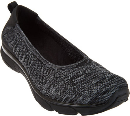 Vionic Orthotic Mesh Heather Knit Slip-ons - Aviva