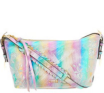 Aimee Kestenberg Pebble Leather Embroidered Crossbody - A309115