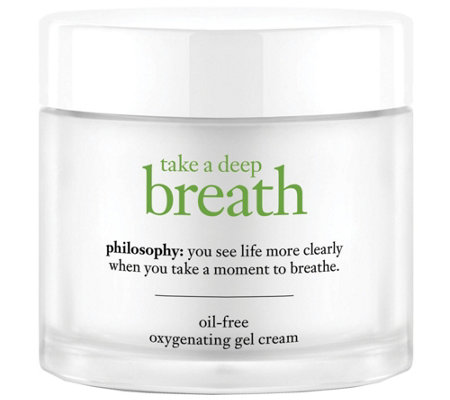 philosophy take a deep breath face moisturizer2 oz