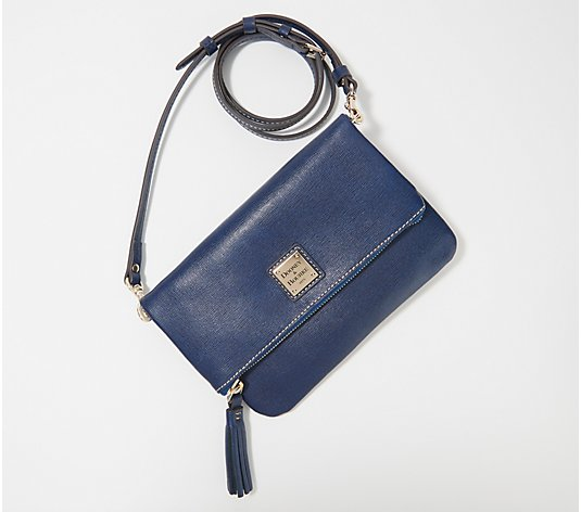 Dooney & Bourke Saffiano Foldover Zip Crossbody