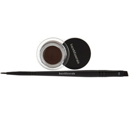 bareMinerals Must Have Eyes Baseline Silky Cream Eyeliner & Liner Brush