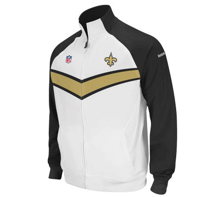 c0af0fc56 NFL New Orleans Saints Player Sideline Travel Jacket — QVC.com