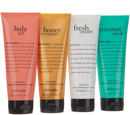 philosophy island passport 4-piece body lotion Auto-Delivery