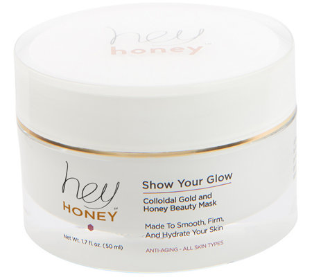 Hey Honey Show Your Glow Beauty Mask, 1.7 oz