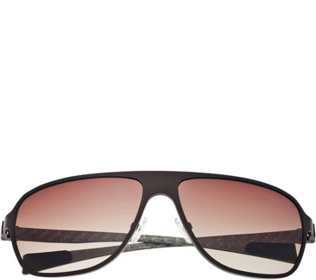 Breed Atmosphere Titanium and Carbon Fiber Brown Sunglasses