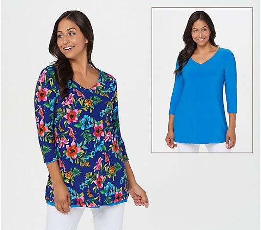Attitudes by Renee Renee's Reversibles Tunic