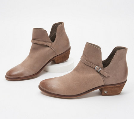 Sam Edelman Leather Booties - Palmer