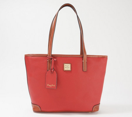 Dooney & Bourke Pebble Leather Charleston Shopper