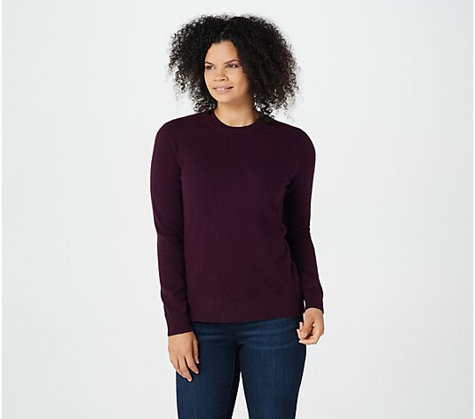 Soft by NAADAM 100% Cashmere Essential Crew- Neck Pullover Sweater