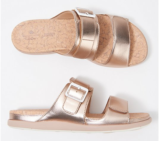 CLOUDSTEPPERS by Clarks Slide Sandals - Step June Sun
