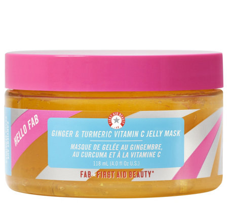 First Aid Beauty Ginger & Turmeric Vitamin C Jelly Mask